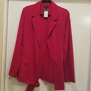New Red Blazer